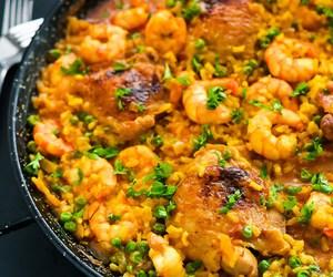 Chicken, spanish, and rice image