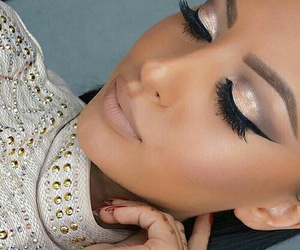 beautiful, chic, and eyeliner image