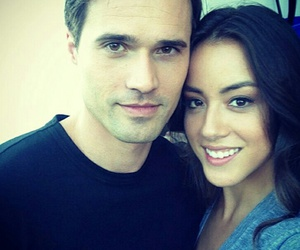 agents of shield, skye, and brett dalton image
