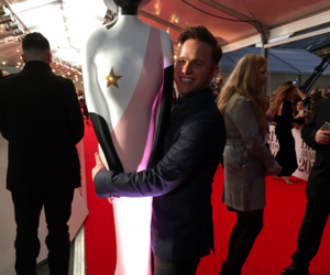 red carpet, brits, and olly murs image