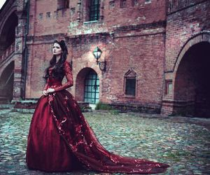 dress, beautiful, and fairytale image