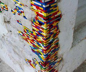 lego, art, and street art image