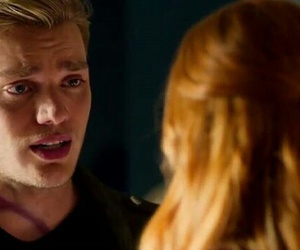 jace, clary, and clary and jace image
