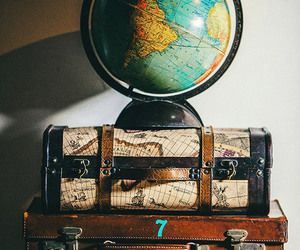 travel, beautiful, and globe image