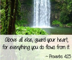 scripture, water, and bible verses image