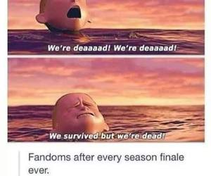 fandom, funny, and dead image