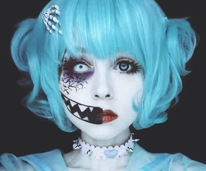 Halloween, make up, and cosplay image