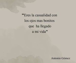 amor, frases, and casualidad image