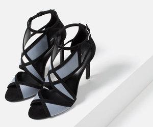 heels, sandali, and Zara image