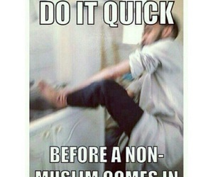 muslim, funny, and islam image
