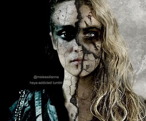 lexa, the 100, and clexa image