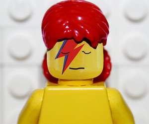 bowie, david bowie, and lego image