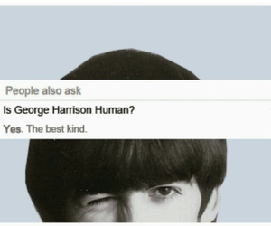 beatles, george harrison, and music image