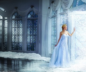 dress, frozen, and wedding image
