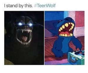 teen wolf, funny, and the beast image