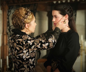 reign, mary, and megan follows image