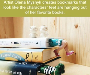 bookmarks, books, and bookies image