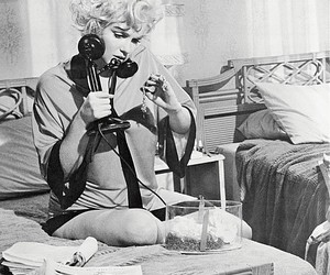 Marilyn Monroe and movie image