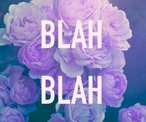wallpaper, blah, and flowers image