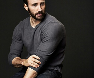 chris evans, captain america, and sexy image