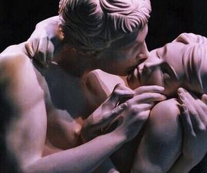 art, couple, and mood image
