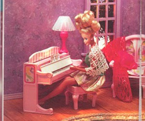 barbie, retro, and doll image