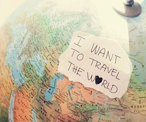travel, Dream, and world image