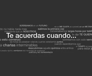 love, frases, and memories image