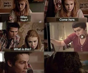 funny, lydia, and teen wolf image