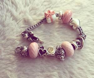 beads, bracelet, and gift image