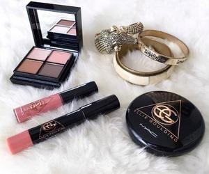 eyeshadow, lipstick, and beauty image