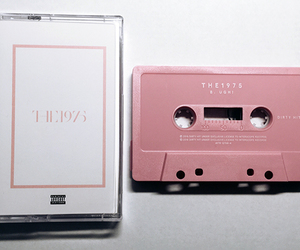 the 1975, pink, and music image