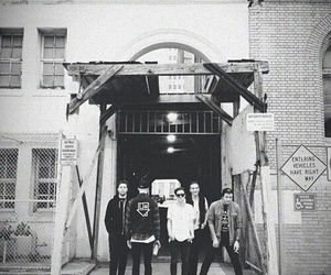band, black&white, and the neighbourhood image