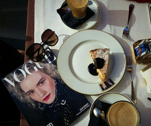 breakfast, fashion, and cafe image