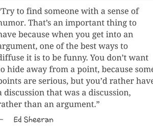 funny, quote, and ed sheeran image