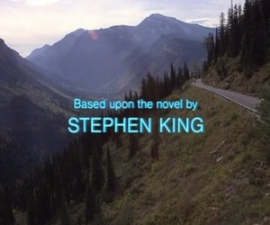 Stephen King, movie, and The Shining image