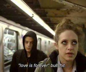 love and mr robot image