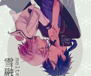anime couple, norn9, and nanami shiranui image
