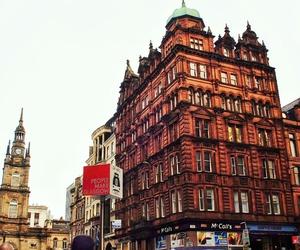 city, glasgow, and scotland image