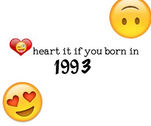 1993, born, and heart image