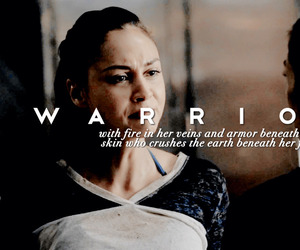 warrior, lindsey morgan, and the hundred image