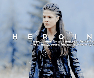 heroine, marie avgeropoulos, and the hundred image