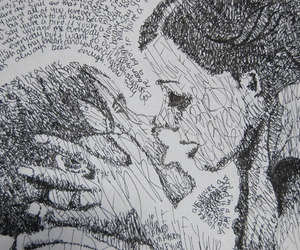 love, the notebook, and art image