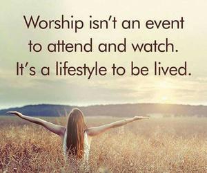 lifestyle, praise, and worship image