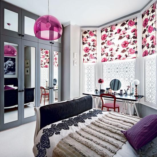 Modern Floral Bedroom Bedroom Decorating Ideas Bedroom Housetohome Co Uk