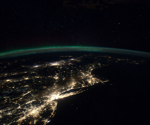 boston, canada, and international space station image