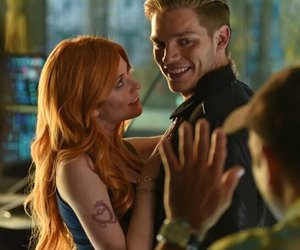 shadowhunters, clace, and clary fray image