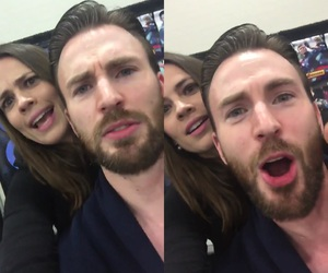 Avengers, agent carter, and captain america image
