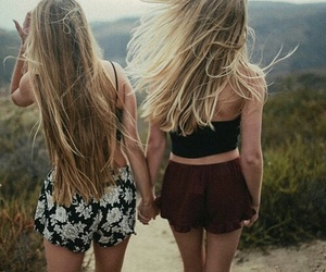 friends, girls, and blonde image