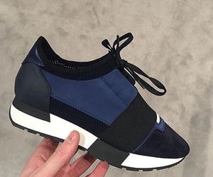 Balenciaga, runners, and shoes image